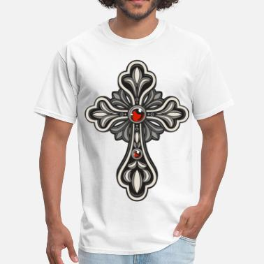 Ethiopia Cross - Men's T-Shirt
