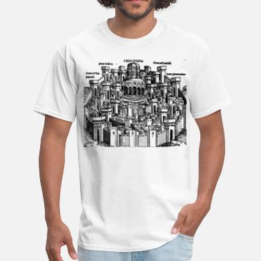 Jerusalem Cross Jerusalem 1493 - Men's T-Shirt
