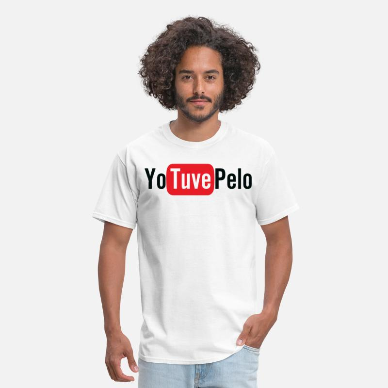 America T-Shirts - Yo Tuve Pelo - Men's T-Shirt white