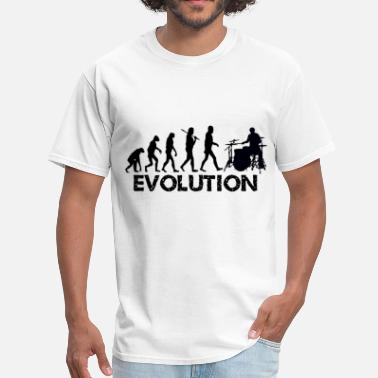 Evolution Of The Drummer Evolution of a Drummer - Men's T-Shirt