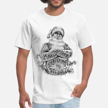 Christmas Collection All Day Happy - T-shirt pour hommes
