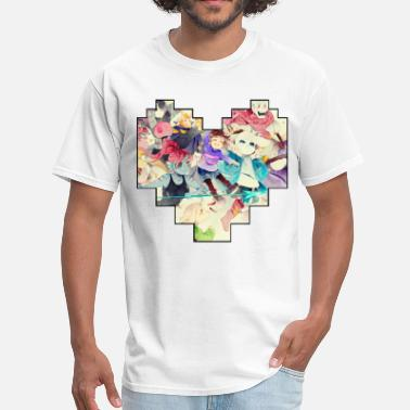 Frisk Undertale Heart - Men's T-Shirt