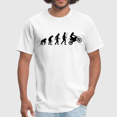 Dirt Bike Evolution T Shirt - Men's T-Shirt