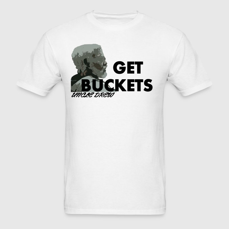Get Buckets Uncle Drew - Men's T-Shirt