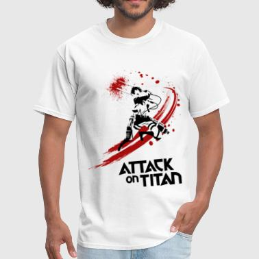 Attack On Titan Eren Attack - Men's T-Shirt