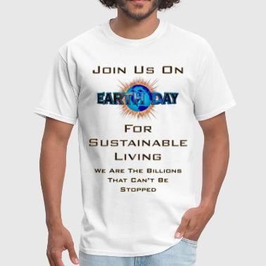 Sustainable Living Earth Day Sustainable Living Men's T-Shirt - Men's T-Shirt