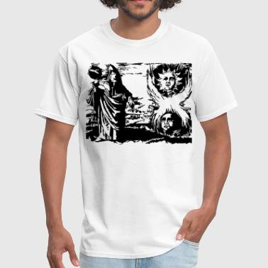 Latin Greek Hermes Trismegistus - Men's T-Shirt