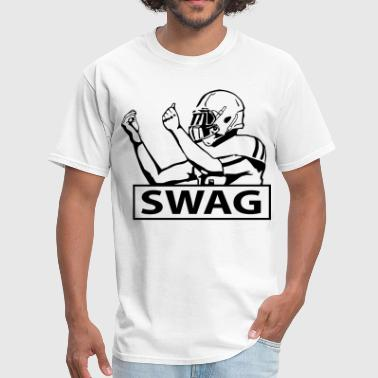 Football Player SWAG FOOTBALL PLAYER - Men's T-Shirt
