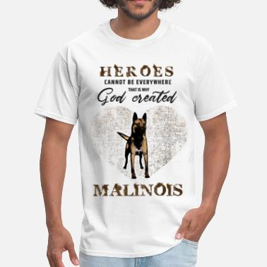 Belgian Malinois Dog Belgian shepherd Malinois - Men's T-Shirt