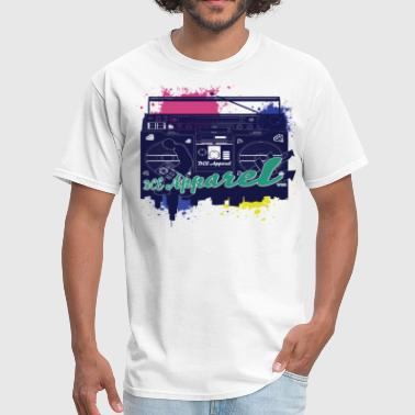 Retro Boombox  - Men's T-Shirt