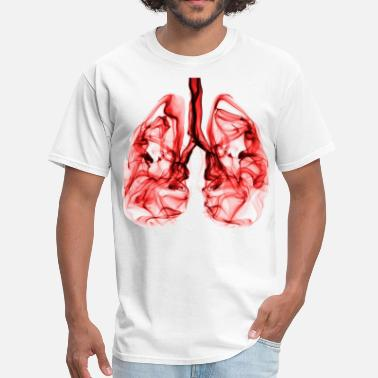Lunges lung - Men's T-Shirt