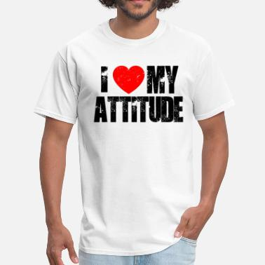 Wwf-attitude I Love My Atittude. - Men's T-Shirt