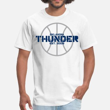 Okc Thunder THUNDER - Men's T-Shirt
