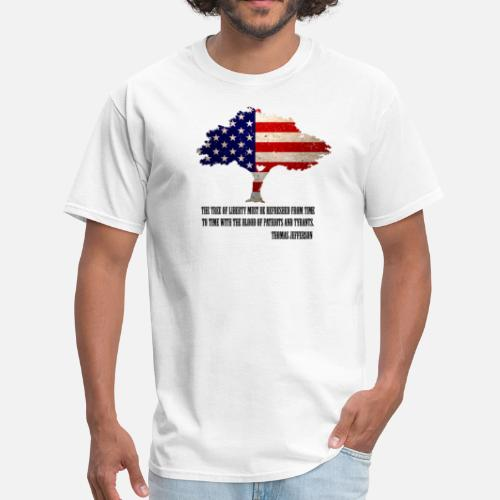 86584f914c96 ... Tree of Liberty - Men s T-Shirt white. Do you want to edit the design