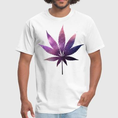 Space Weed - Men's T-Shirt