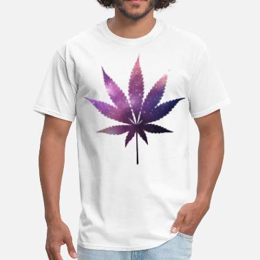 Weed Space Space Weed - Men's T-Shirt