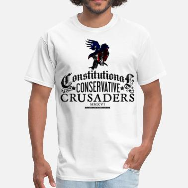 Crusader Constitutional Conservative Crusaders - Men's T-Shirt