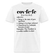 Covfefe Definition   Menu0027s T Shirt