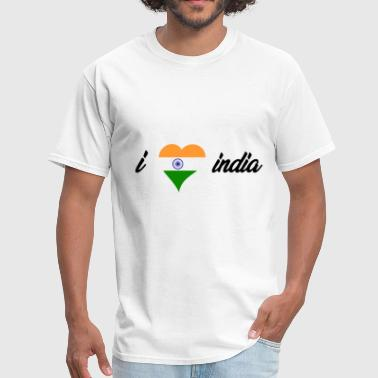I love india! Perfect gift idea for any india trip - Men's T-Shirt
