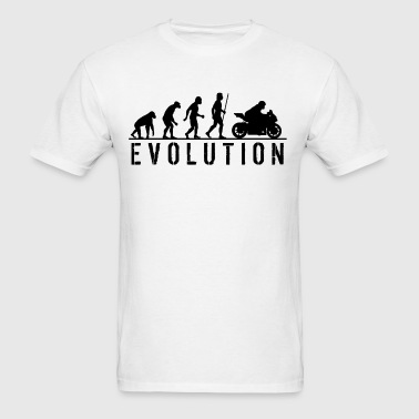 Evolution Street Motorbike - Men's T-Shirt
