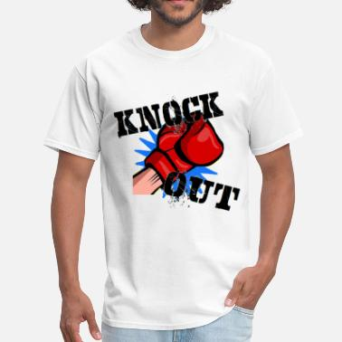 Knocked Knock Out - Men's T-Shirt