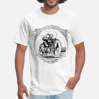 Triumph Motorcycle Retro vintage motorcycle race - Men's T-Shirt