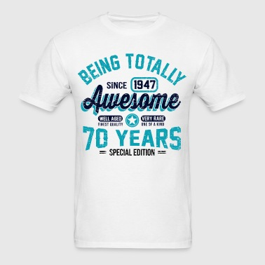 70 Years Of Being Awesome - Men's T-Shirt