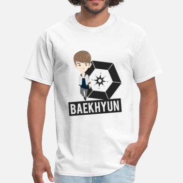 Korean Chibi EXO - Chibi Baekhyun (For Light Shirts) - Men's T-Shirt