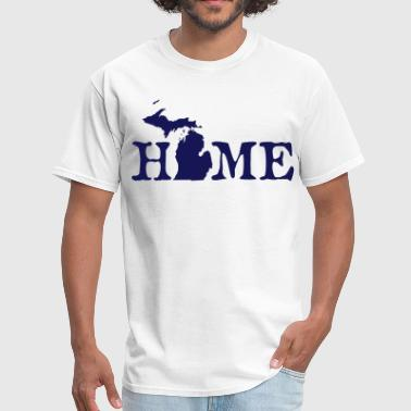 Michigan Up North HOME - Michigan - Men's T-Shirt