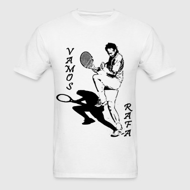 vamos rafa women's tshirt - Men's T-Shirt