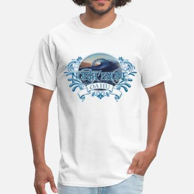 Oahu North Shore Oahu - Men's T-Shirt