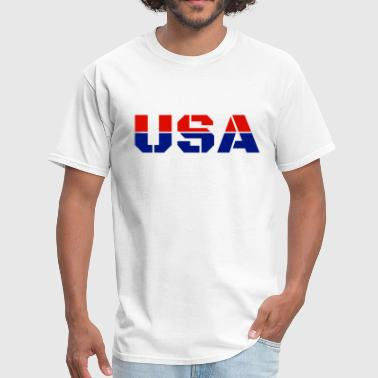 Marica USA Team America Trendy Cool Winter Sports Games - Men's T-Shirt