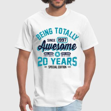 20 Years Of Being Awesome - Men's T-Shirt
