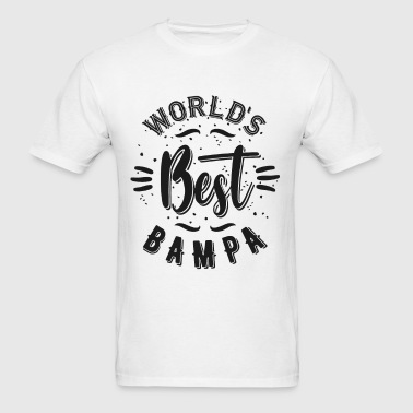 World's Best Bampa - Men's T-Shirt