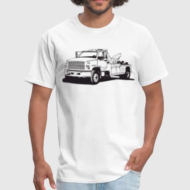 Tow Truck HD Design - Men's T-Shirt