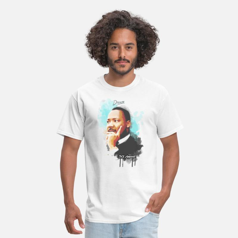 History T-Shirts - Martin Luther King Jr MLK - Men's T-Shirt white