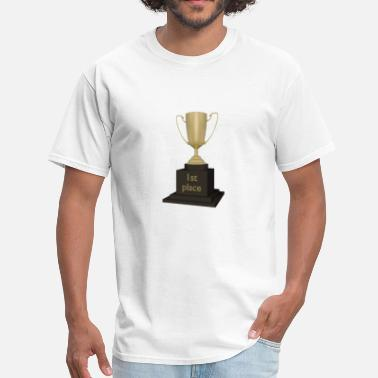 First Place 1st Place Trophy (First) - Men's T-Shirt