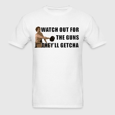Anchorman Guns - Men's T-Shirt
