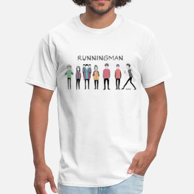 Korean Running Man Cast (Episode 74 Super Natural) - Men's T-Shirt