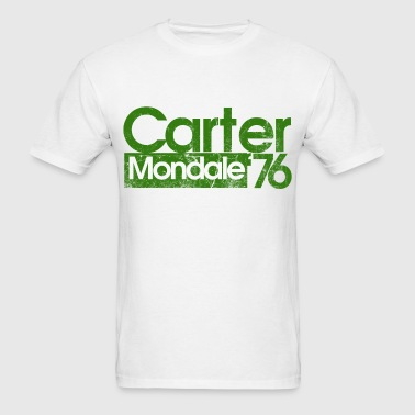 Jimmy carter mondale 76 - Men's T-Shirt