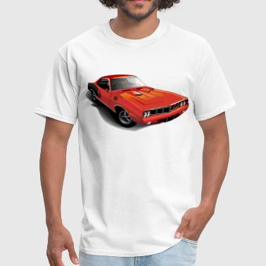 Cool red vintage retro car - Men's T-Shirt