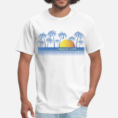 90s Surfing Beach Life 90 - Men's T-Shirt