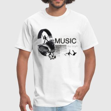 Music Is My Style - Men's T-Shirt
