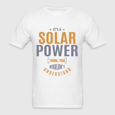 Solar Power T-shirt - Men's T-Shirt