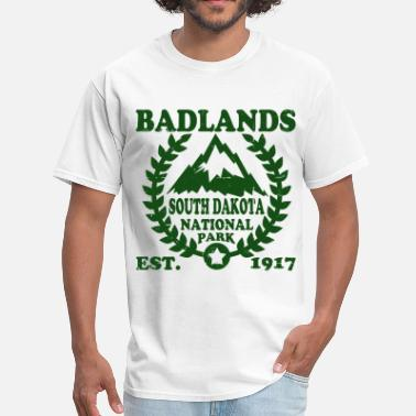 Badlands dsjhklg56dg2sd3 - Men's T-Shirt