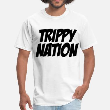 Three 6 Mafia Trippy Nation - Men's T-Shirt