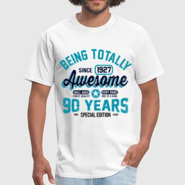 90 Years Of Being Awesome - Men's T-Shirt
