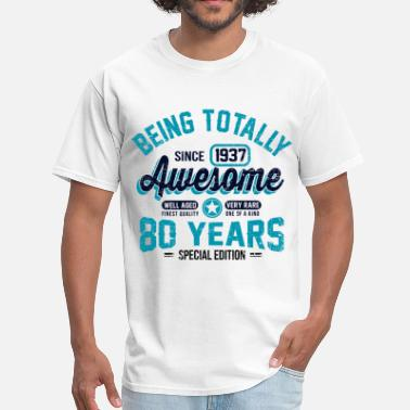 1939 80 Years Of Being Awesome - Men's T-Shirt