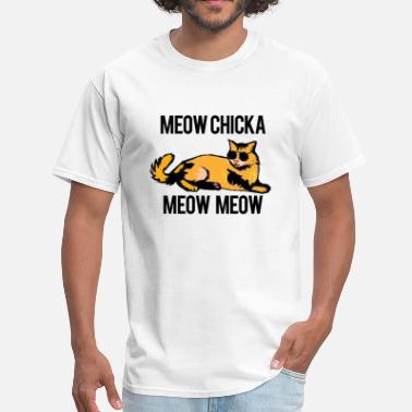 Funny Cats Meow Meow - Men's T-Shirt