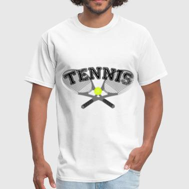 Tennis Rackets - Men's T-Shirt